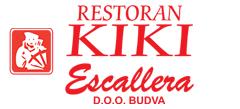 Restoran Kiki  – Plaza Escallera – Plaža Jaz Budva Logo